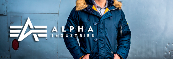 КУРТКИ АЛЯСКИ ALPHA INDUSTRIES SLIM FIT N-3B PARKA REP.BLUE