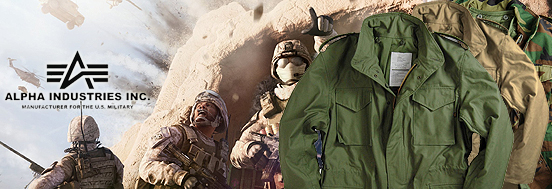 M-65 FIELD COAT ALPHA INDUSTRIES, USA