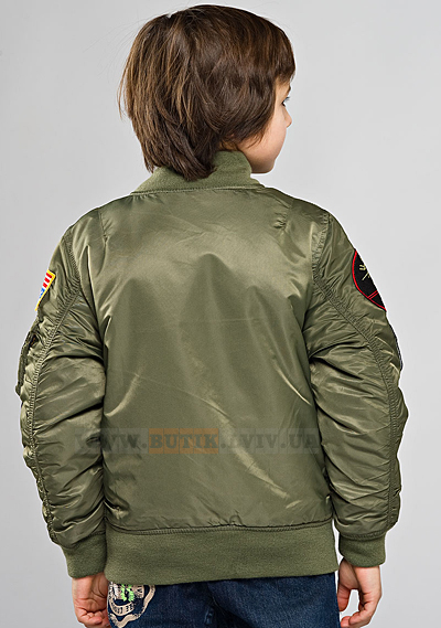 МА-1 with Patches Alpha Industries