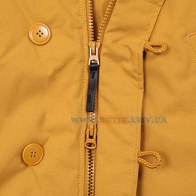 Жовта куртка аляска Altitude Alpha Industries