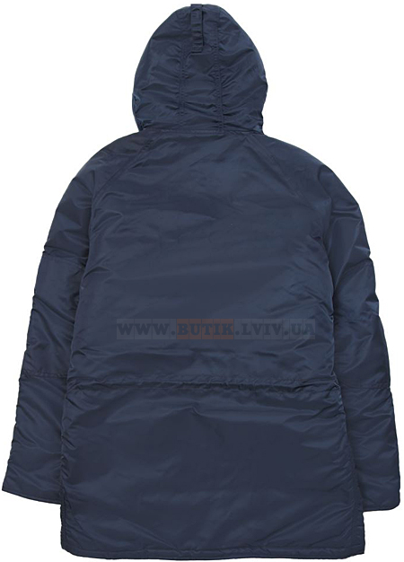 Синя куртка аляска Alpha Industries Slim Fit N-3B Parka