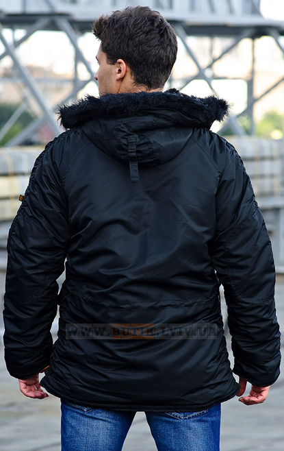 Куртка аляска Slim Fit N3-B Parka Alpha Industries