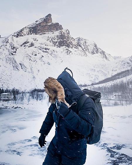 зимова куртка аляска Alpha Industries Slim Fit N-3B Parka