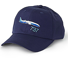 Boeing 737 3D Emblem Hat