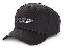 Boeing 737 Midnight Silver Hat