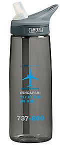 Пляшка для води Boeing 737-800 Schematics Water Bottle