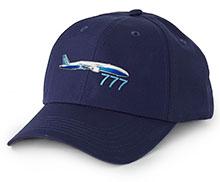 Boeing 777 3D Emblem Hat