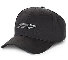 Boeing 777 Midnight Silver Hat