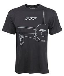 Футболка Boeing 777 Midnight Silver T-Shirt