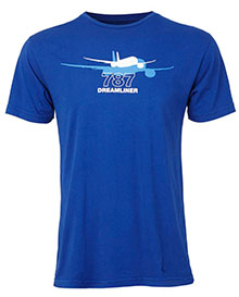 Футболка Boeing 787 Dreamliner Shadow Graphic T-Shirt
