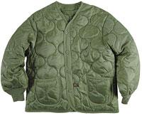 Підстібка-утеплювач Liner (ALS/92) для куртки M-65 Alpha Industries (Olive) MJL48000C1