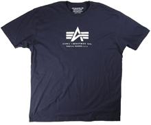 Футболка Alpha Logo Tee Alpha Industries (Force Navy)