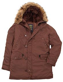 Куртка аляска Altitude Parka Alpha Industries (chestnut)