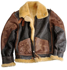 Шкіряна льотна куртка Alpha Industries B-3 Vintage Sheepskin Bomber (Brown) MLB37015C1
