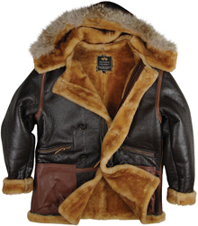 Шкіряна куртка Alpha Industries B-7 Vintage Sheepskin Parka (Brown) MLB37005K1