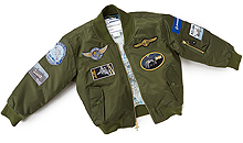 Дитяча льотна куртка Boeing Green Nylon Flight Jacket