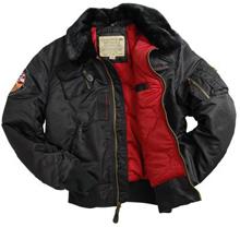 Куртка Injector Alpha Industries (чорна)