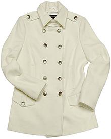 Ladies Wool Long Peacoat Alpha Industries (біле)