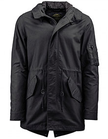 Штормівка Alpha Industries M-59 Fishtail Parka (Black) MJM45580C1