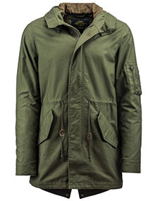 Штормівка Alpha Industries M-59 Fishtail Parka (Olive Green) MJM45580C1