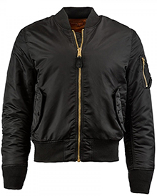 Бомбер Alpha Industries MA-1 Slim Fit Bomber Jacket (Black) MJM44530C1