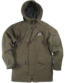 Куртка Softshell N-3B Parka (оливкова)