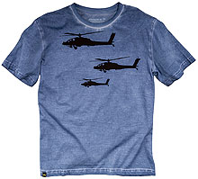 Футболка Helicopter Tee Alpha Industries (Cadmium Blue)