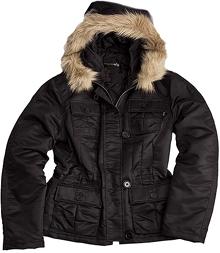 Осіння жіноча куртка Abby Alpha Industries (чорна)