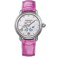 Жіночий наручний годинник Aerowatch 1942 Butterfly (рожевий) 44960AA05
