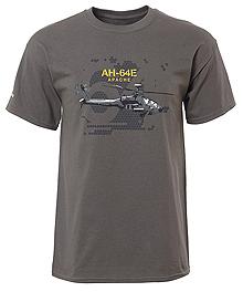 Футболка Boeing AH-64E Apache