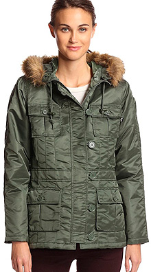 Осіння жіноча куртка Alpha Industries Abby (Sage Green) WJA34030K1