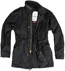 Slim Fit M-65 Field Coat Alpha Industries (чорна)