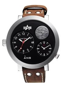 Ювілейний годинник на 50-річчя компанії Alpha Industries Alpha by Aeronautics 8279А