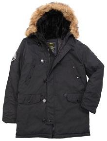 Куртка аляска Altitude Parka Alpha Industries (чорна)