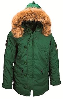 Куртка аляска Altitude Parka Alpha Industries (зелена)