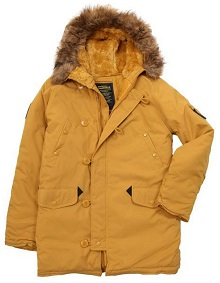 Куртка аляска Alpha Industries Altitude Parka жовта (tumbleweed) MJA43917C1