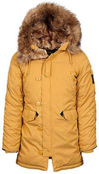 Зимова жіноча куртка аляска Alpha Industries Altitude W Parka (Tumbleweed) WJA44503C1