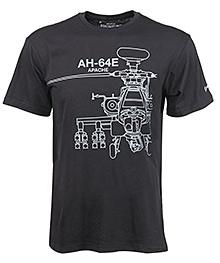 Футболка Boeing AH-64E Apache Midnight Silver T-Shirt
