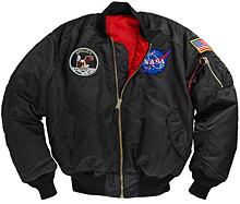 Куртка Alpha Industries Apollo MA-1 Flight Jacket (чорна)