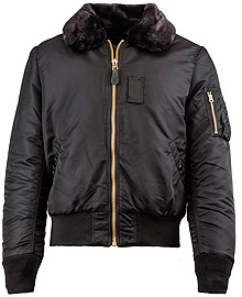 Бомбер Alpha Industries B-15 Slim Fit Bomber Jacket чорний (black) MJB45500C1