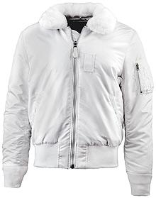 Льотна куртка Alpha Industries B-15 Slim Fit (White) MJB45500C1