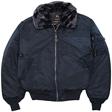Льотна куртка Alpha Industries B-15 Flight Jacket (Rep.Blue) MJB23010C1