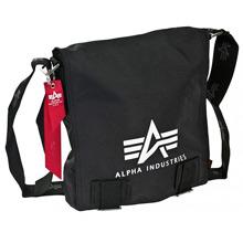 Сумка Alpha Industries Big A Oxford Utility Bag (чорна)