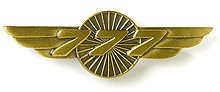 Значок Boeing 777 Wings Pin