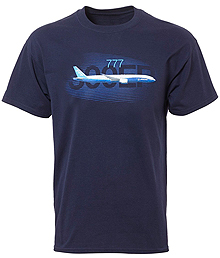 Футболка Boeing 777 Graphic Profile T-shirt