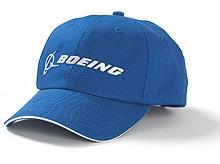 Бейсболка Boeing Blue Logo Hat