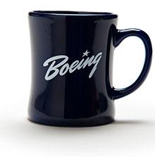 Boeing Heritage Blue Mug