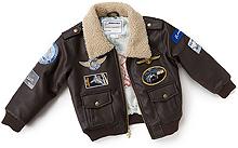 Дитяча льотна куртка Боїнг Boeing Aviator Jacket (Brown) 330030070028