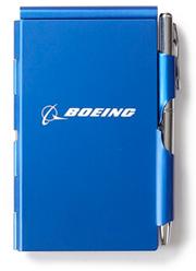 Записник Boeing Metal Flip Notepad