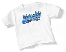 Дитяча футболка Boeing Pudgy Formation Youth T-shirt (white)